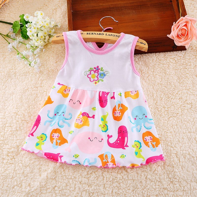 35a9afb5dbb Baby Girl Cotton Summer Dress Lily S Child