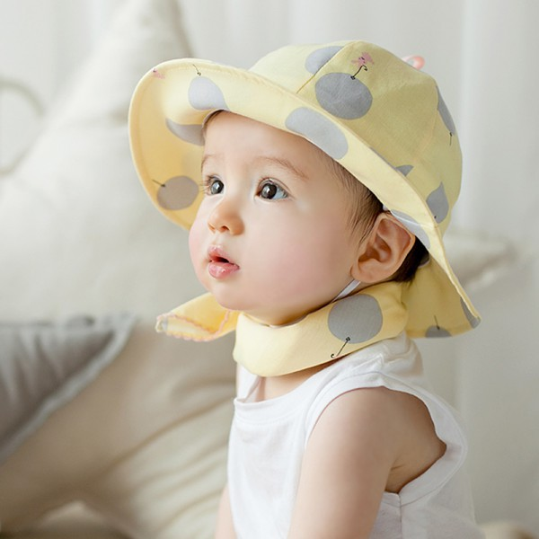 51ca9817162 Baby Polka Dot Summer Outdoor Hat – Lily s Child